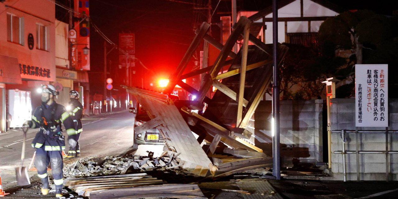 7.1 magnitude earthquake shakes Japan; No tsunami warning in effect