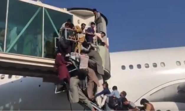 Chaos Erupts at Kabul Airport as Locals Scramble to Flee a Taliban Captured Afghanistan