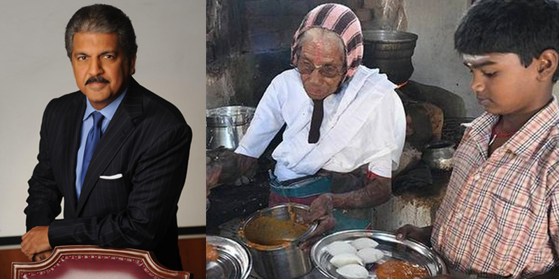 Anand Mahindra Invested In An 80 YO Amma's Business From Tamil Nadu. See What She Does.