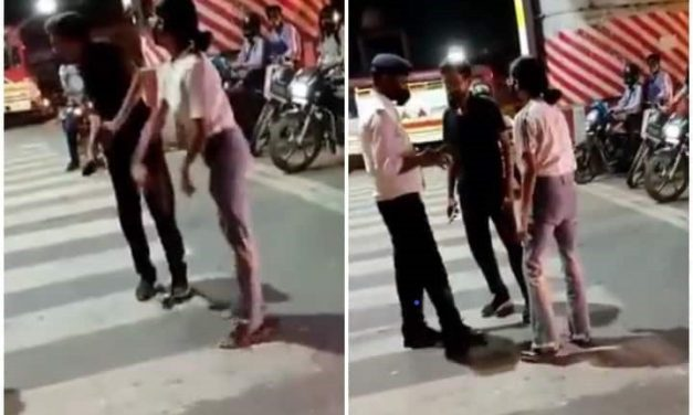 #ArrestLucknowGirl: FIR Against Girl Who Constantly Beats A Cab Driver at Traffic Signal, Netizens Demand Equal Justice