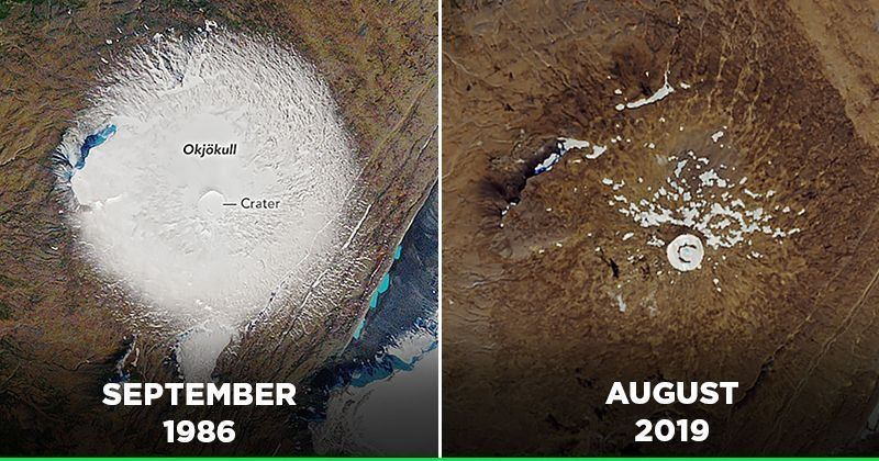 The first completely lost glacier in Iceland. This is what people did after it.