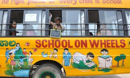 School on wheels, another step towards 100% literacy.