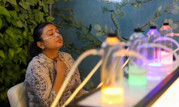 Delhi Gets Its First Oxygen Bar and We Are Imagining the Beginning of the Apocalypse