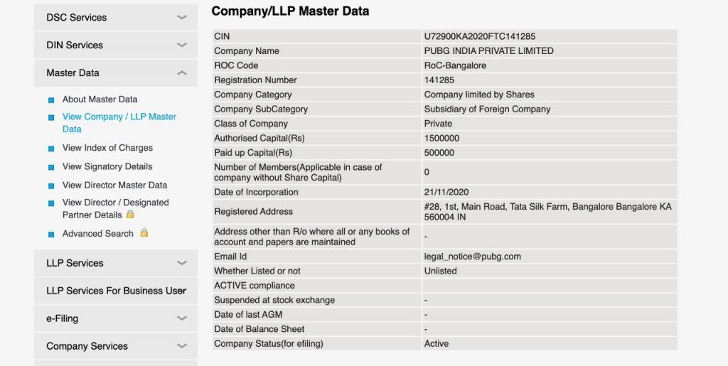 pubg india registration