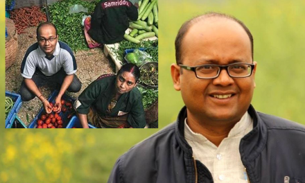 IIM Gold Medalist is selling vegetables for 12 years & changing the life of Farmers & Street Vendors.