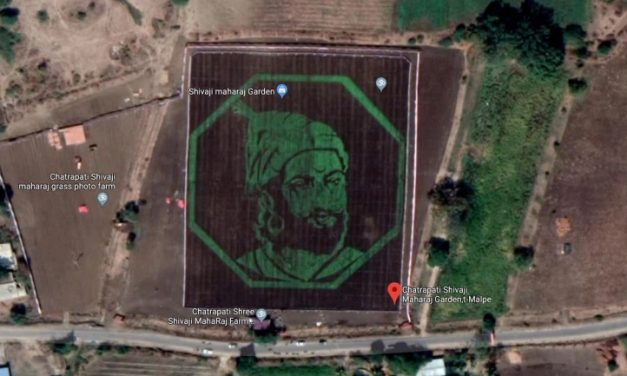This 2.5 Lakh Sq Ft artwork is visible on google maps. Every Indian must watch this.