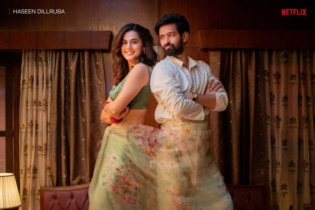 Taapsee and Vikrant Massey