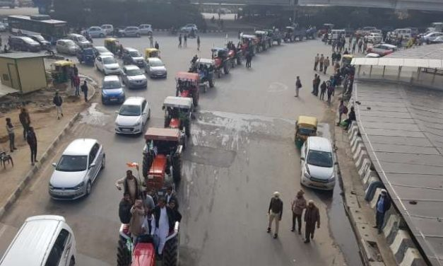 Tractor March, A Rehearsal for 26th Jan Say Farmers, 3500 Tractors On Delhi Border