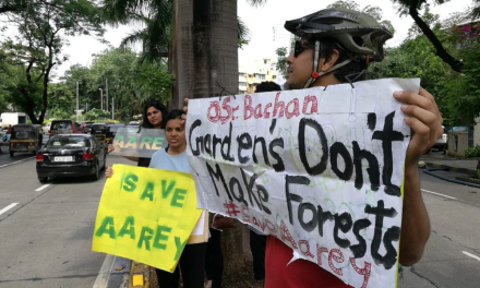 Aarey Forest Activists Protest Outside Amitabh Bachchan's House For His Tweet on Metro & Mumbai Forest