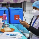 Sanitation Worker, Nurse, Security Guard Among The First To Get Covid-19 Jab